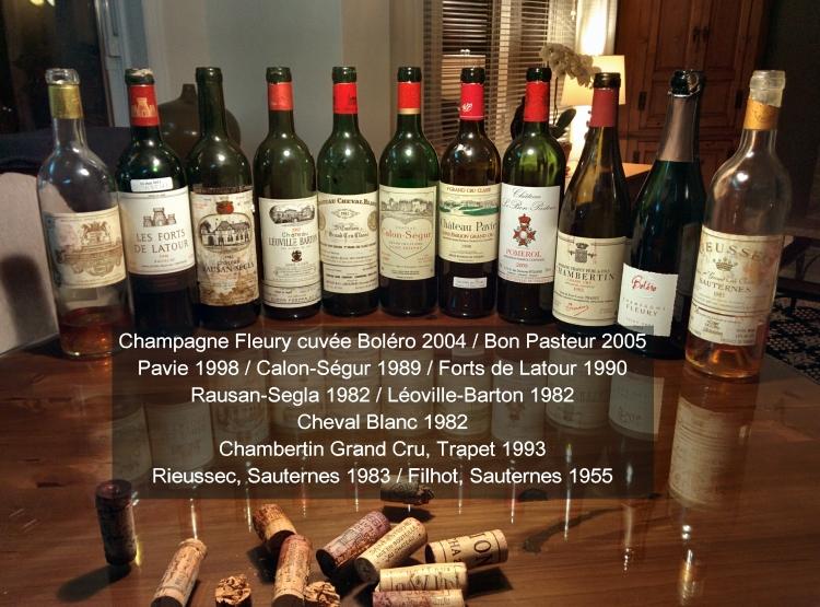 Dégustation autour d'un Cheval Blanc 1982 ChevalBlanc-750